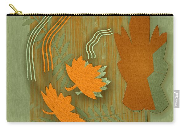 Forever Leaves Carry-all Pouch