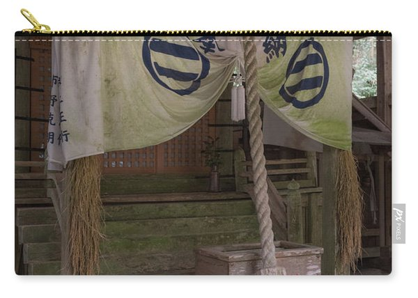 Forrest Shrine, Japan 4 Carry-all Pouch