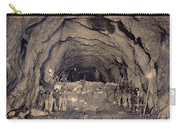 Fort George Tunnel, 1904 Carry-all Pouch