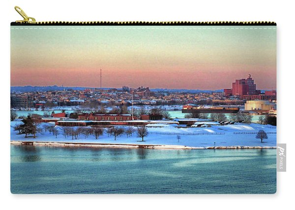 Fort Mchenry Shrouded In Snow Carry-all Pouch