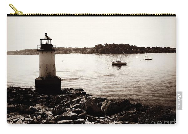 Fort Pickering Lighthouse, Winter Island, Salem, Massachusetts Carry-all Pouch
