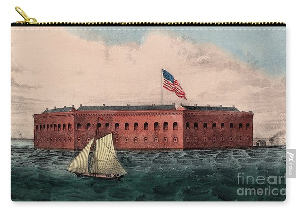 Fort Sumter, Charleston Harbor, South Carolina Carry-all Pouch