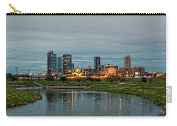 Fort Worth Color Carry-all Pouch