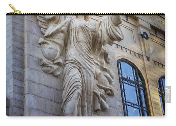 Fort Worth Impressions Bass Hall Angel Carry-all Pouch