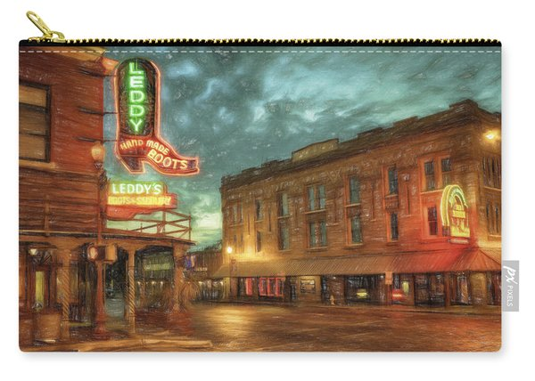 Fort Worth Impressions Main And Exchange Carry-all Pouch