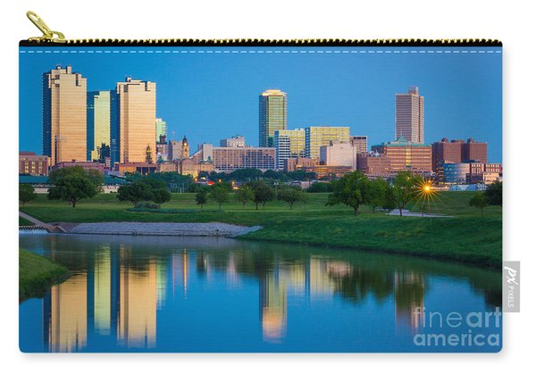 Fort Worth Mirror Carry-all Pouch