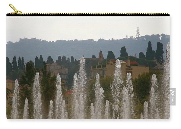 Fountains At Dawn Carry-all Pouch