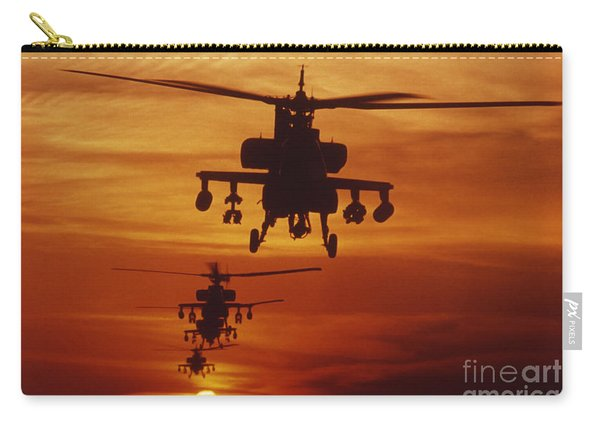 Four Ah-64 Apache Anti-armor Carry-all Pouch
