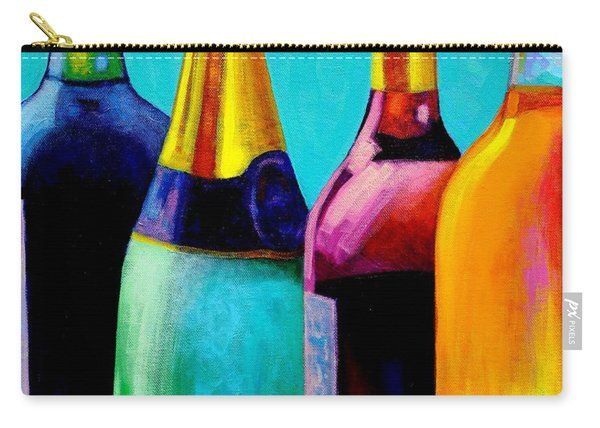 Four Bottles Carry-all Pouch