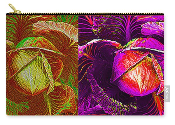 Four Cabbage  Carry-all Pouch