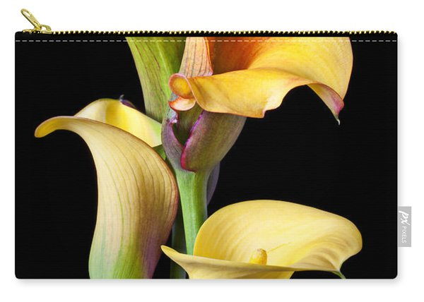 Four Calla Lilies Carry-all Pouch