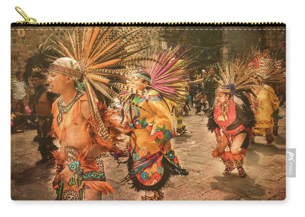 Four Indian Dancers Carry-all Pouch