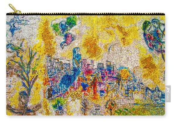 Four Seasons Chagall Carry-all Pouch