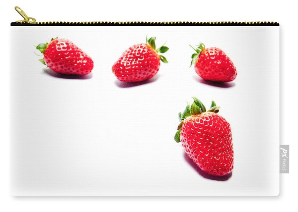 Four Strawberries Carry-all Pouch