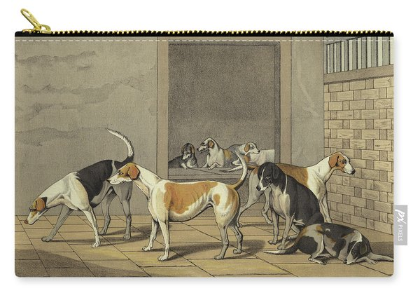 Fox Hounds Carry-all Pouch