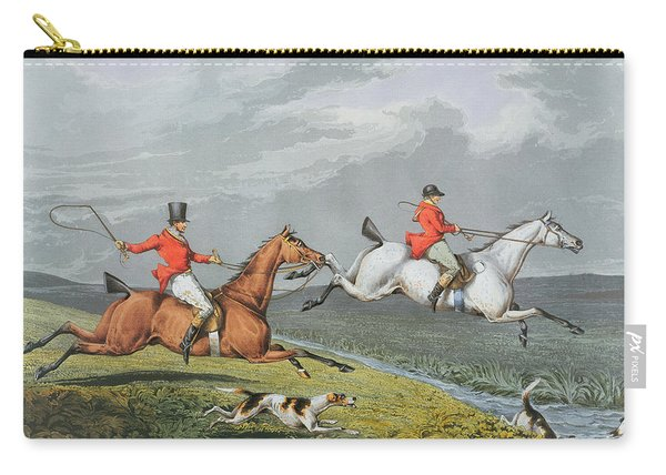 Fox Hunting - Full Cry Carry-all Pouch