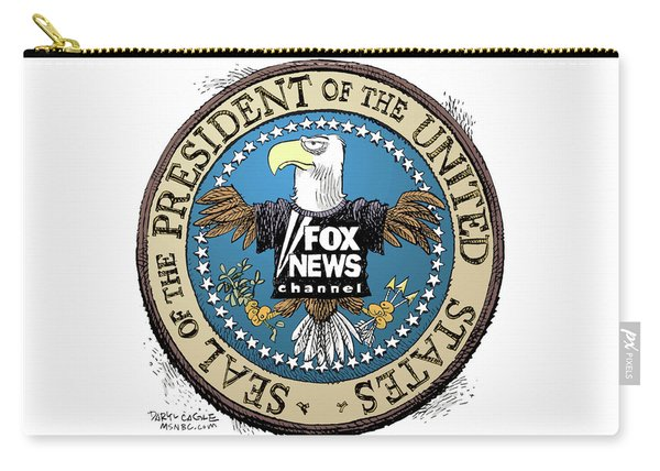 Fox News Presidential Seal Carry-all Pouch