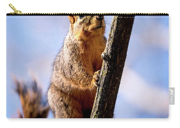 Fox Squirrel's Last Look Carry-all Pouch