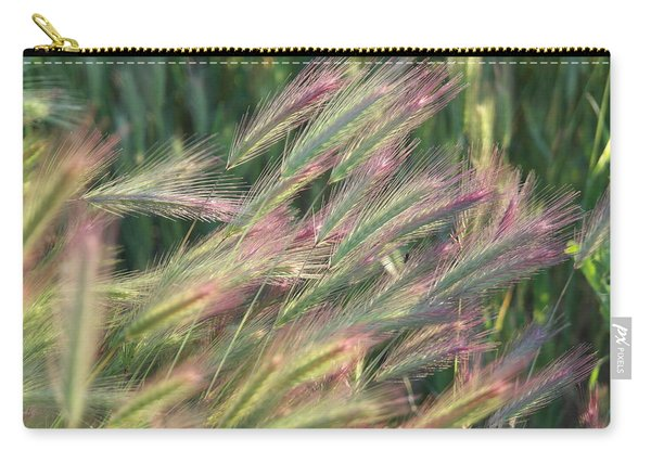 Foxtails In Spring Carry-all Pouch