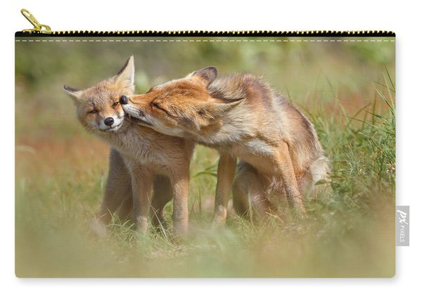 Foxy Love Series - But Mo-om II Carry-all Pouch