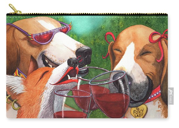 Foxy Winers Carry-all Pouch