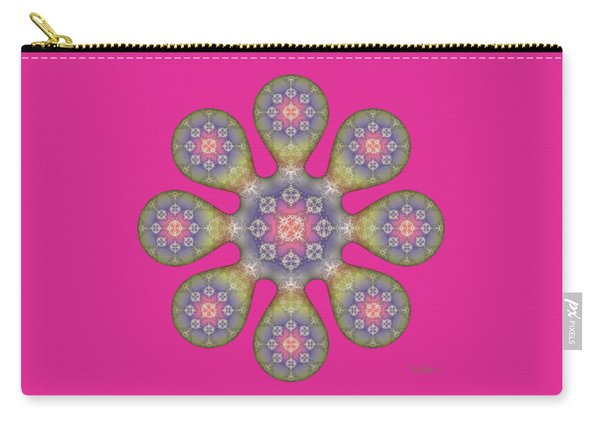 Fractal Blossom 1 Carry-all Pouch
