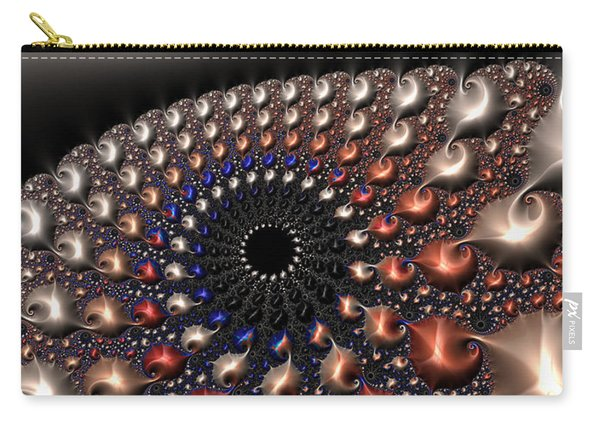 Fractal Contact Carry-all Pouch