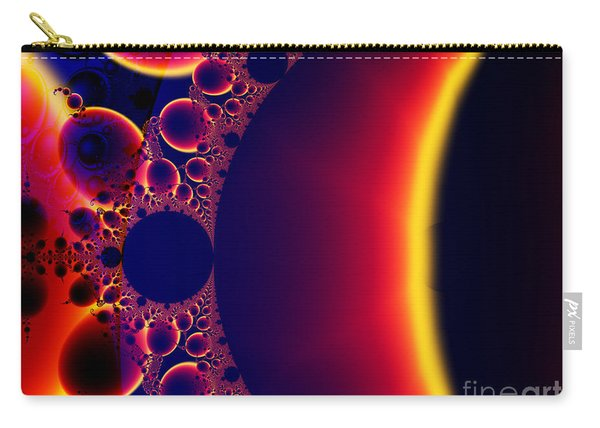 Fractal Galaxy Sunset  Carry-all Pouch
