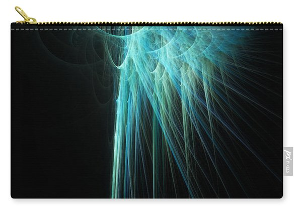 Fractal Rays Carry-all Pouch