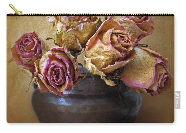 Fragile Rose Carry-all Pouch