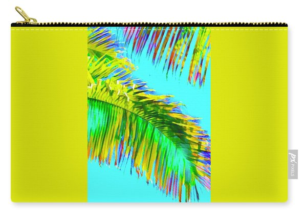 Fragment Of Coconut Palm Psychedelic Carry-all Pouch