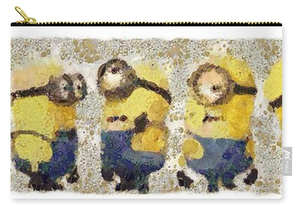 Fragmented And Still In Awe Congratulations Minions Carry-all Pouch