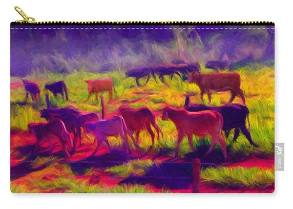 Franca Cattle 1 Carry-all Pouch