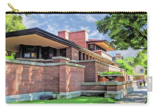 Frank Lloyd Wright Robie House Carry-all Pouch