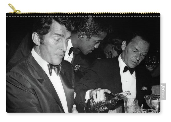 Frank Sinatra Drank American Whiskey His Way Carry-all Pouch