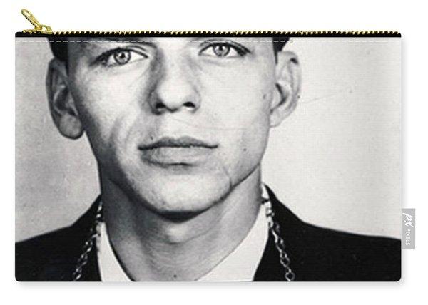 Frank Sinatra Mug Shot Vertical Carry-all Pouch