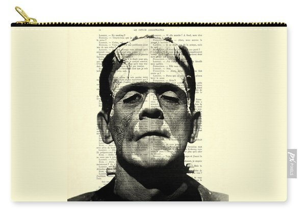 Frankenstein On Dictionary Page Carry-all Pouch