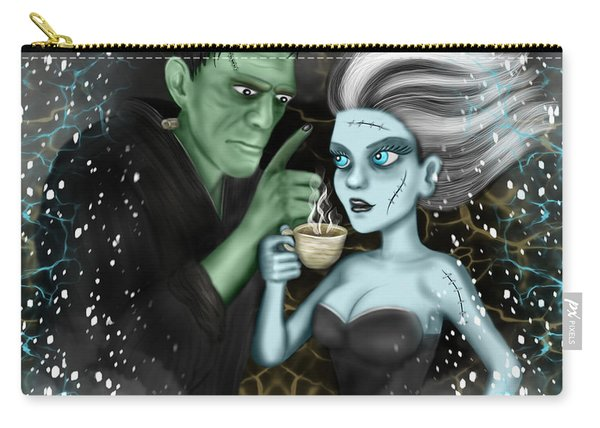 Frankenstien Fantasy Art Carry-all Pouch