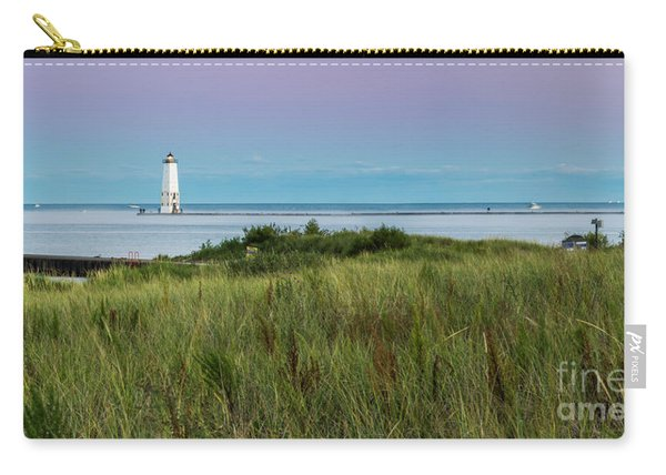 Frankfort North Breakwater Lighthouse From Elberta Carry-all Pouch