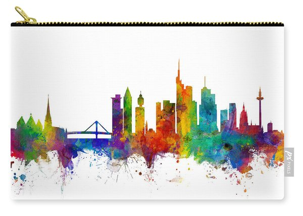 Frankfurt Germany Skyline Carry-all Pouch