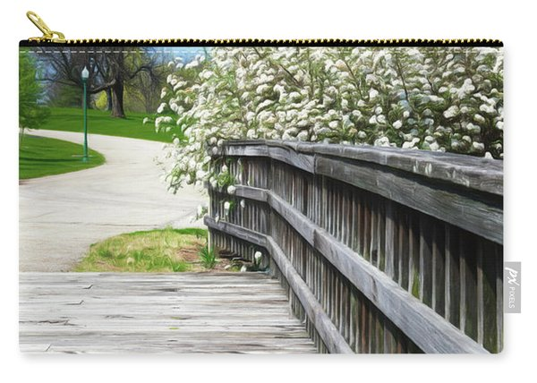 Franklin Park Conservatory Footbridge Carry-all Pouch