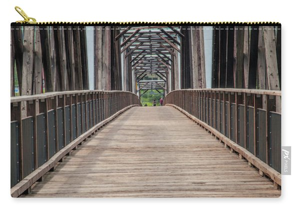 Fraser River Footbridge Carry-all Pouch