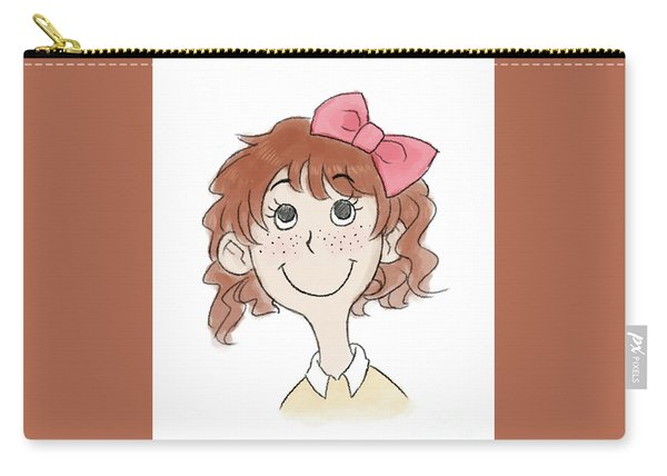 Freckle Face Coco Carry-all Pouch