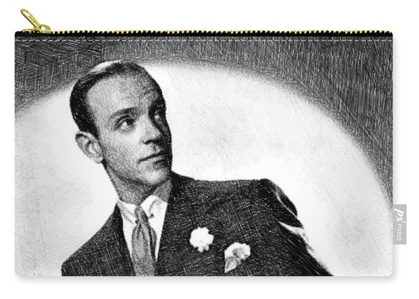 Fred Astaire, Legend By Js Carry-all Pouch