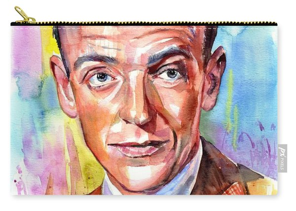 Fred Astaire Painting Carry-all Pouch