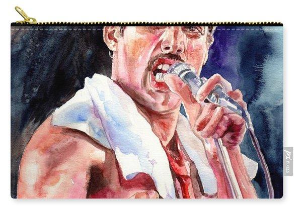 Freddie Mercury Singing Carry-all Pouch