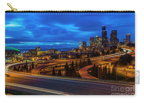 Freeway 5 North To Seattle Carry-all Pouch