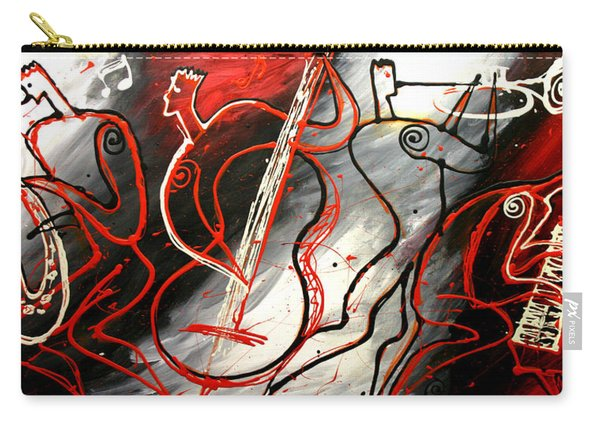 Free Jazz Carry-all Pouch