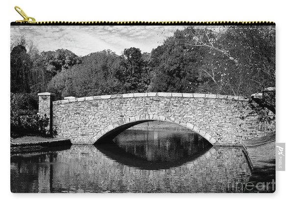 Freedom Park Bridge In Black And White Carry-all Pouch