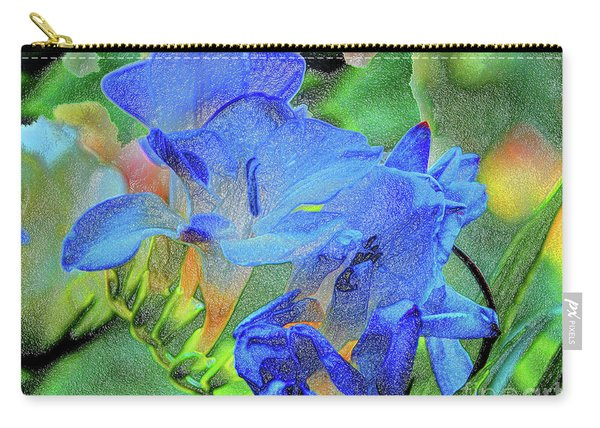 Freesia's Of Beauty Carry-all Pouch